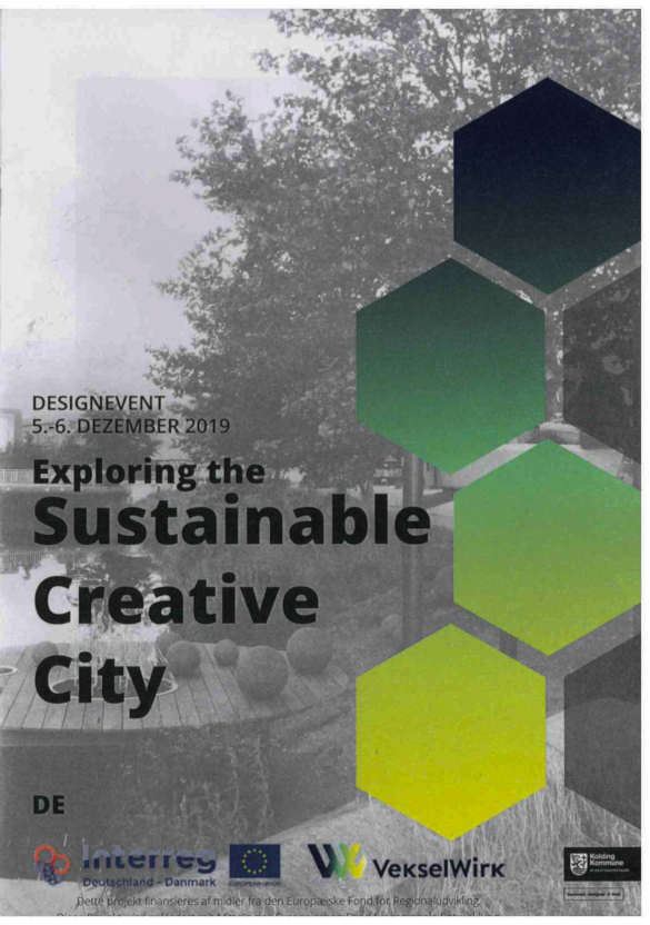 "Design event ""Exploring the sustainable city"""